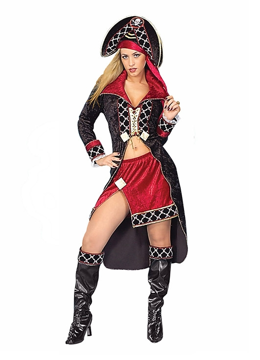 costume di carnevale PIRATESSA