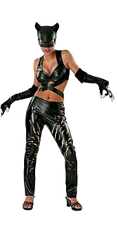 costume di carnevale CAT WOMAN DE LUXE