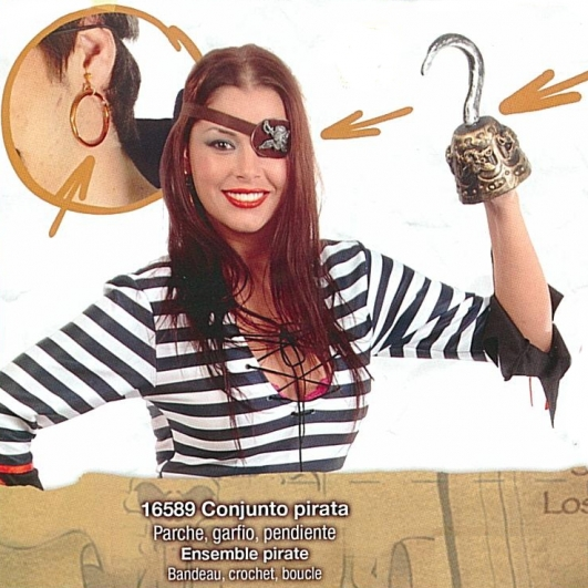 costume di carnevale KIT  PIRATA