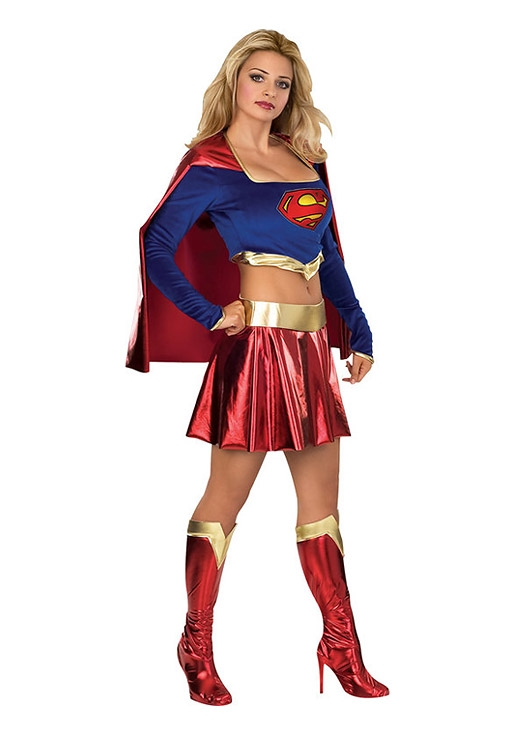 costume di carnevale SUPER GIRL