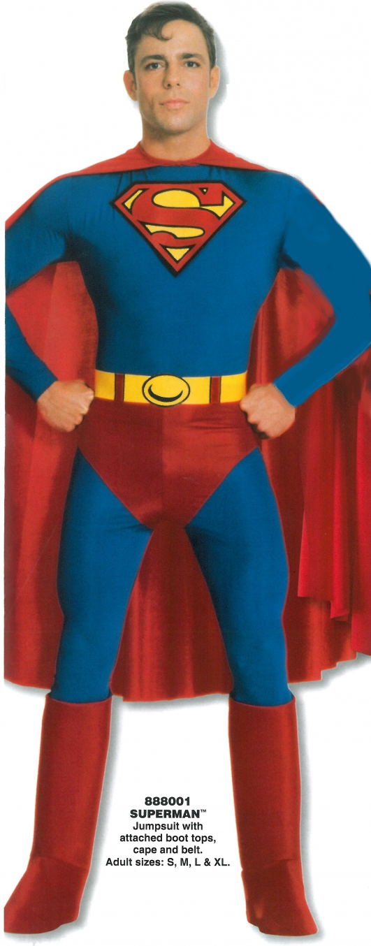 costume di carnevale SUPERMAN
