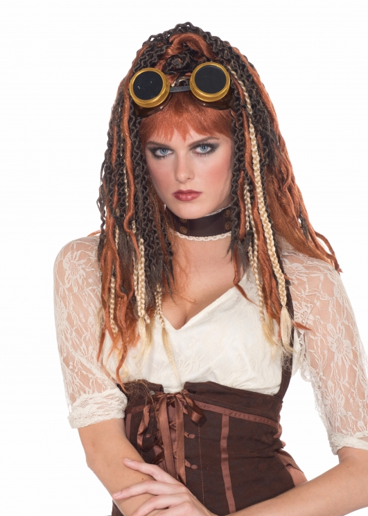 costume di carnevale PARRUCCA STEAM PUNK