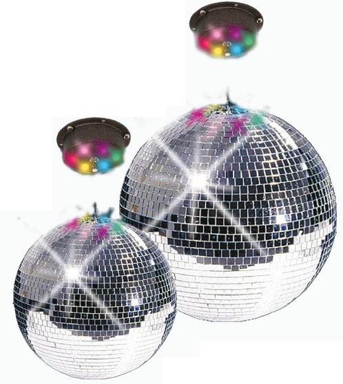 costume di carnevale DISCO PARTY SET LED 30
