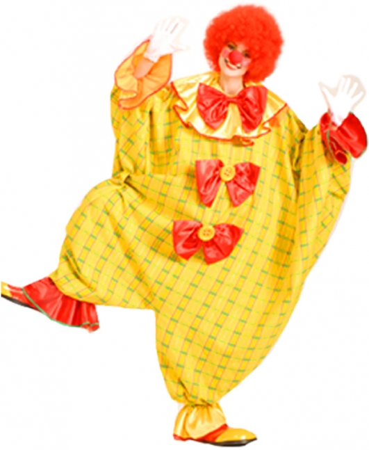costume di carnevale BIG CLOWN