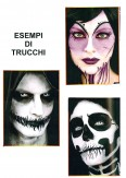 costume di carnevale SKELETON GIRL